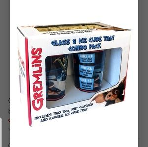 Brand New Sealed Gremlins glass combo pack